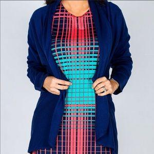 Boutique-Tracy Negoshian Marina Sweater Blue Ink